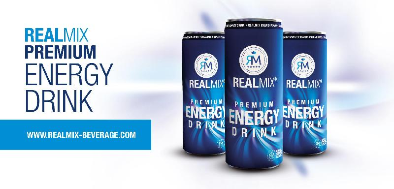 Real Mix energy drink