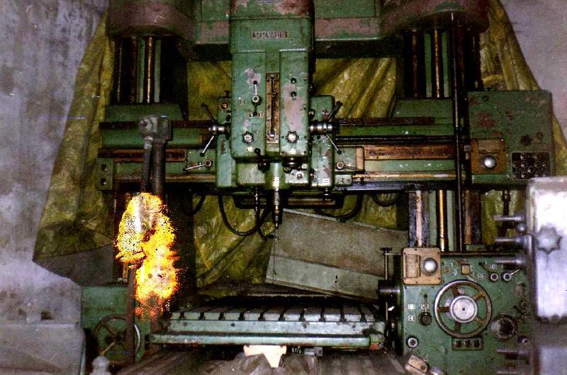Used Jig Boring Machine (WKB100) MAS Make