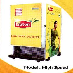 Lipton Tea & Coffee Vending Machine (Lipton 4 Lane U- Cup)