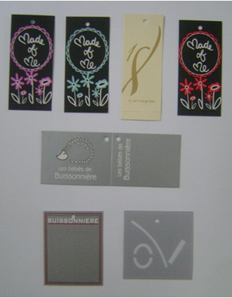 Garment Tags Manufacturer in Delhi India by Pulkit Print
