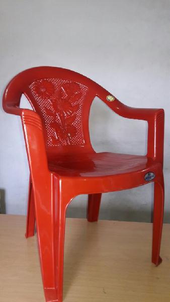 Plastic Medium Back Chair