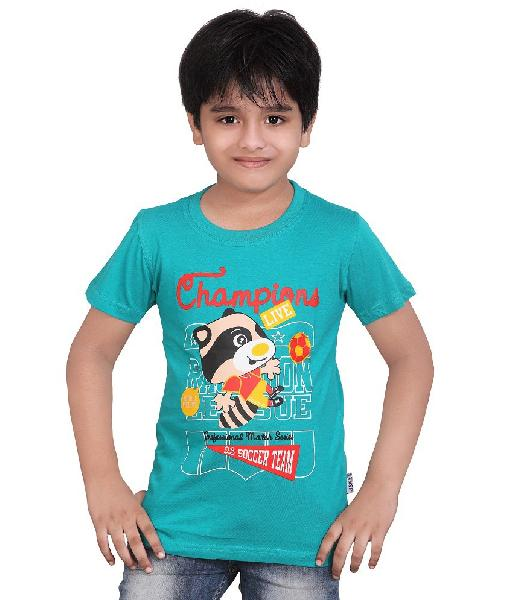59892e0b0 Boys Round Neck T-Shirts Manufacturer in Tirupur Tamil Nadu India by ...