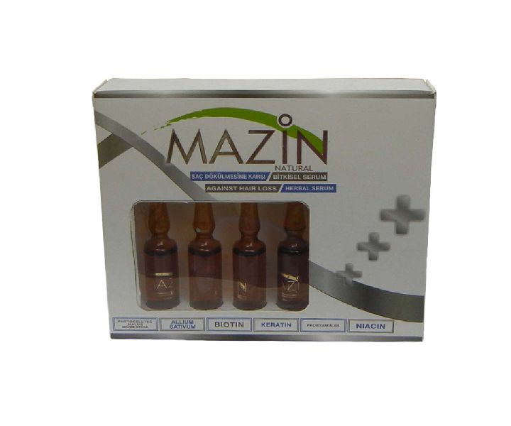 Mazin Natural Keratin Herbal Hair Serum For Hair Loss And Regrowth 5Ml X 5 (P0145X1)