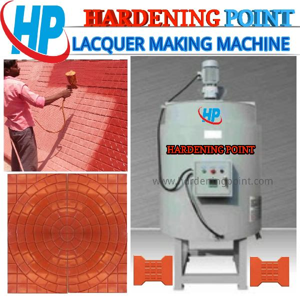 Paver Tiles Lacquer Making Machine