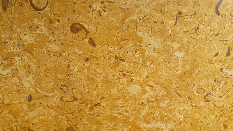 Flowery Gold Yellow Marble Slabs