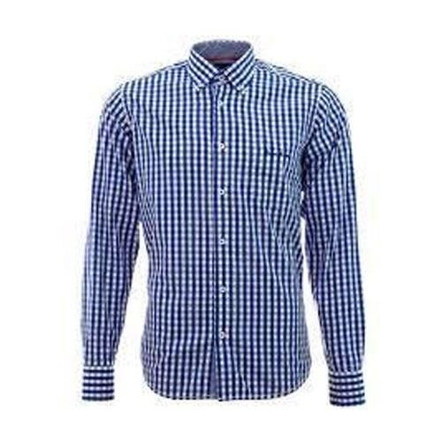 Mens Checked Cotton Shirts (MS_005)