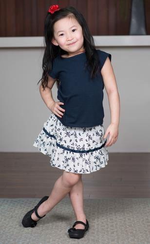 Girls Skirt Top Set (BP_022)