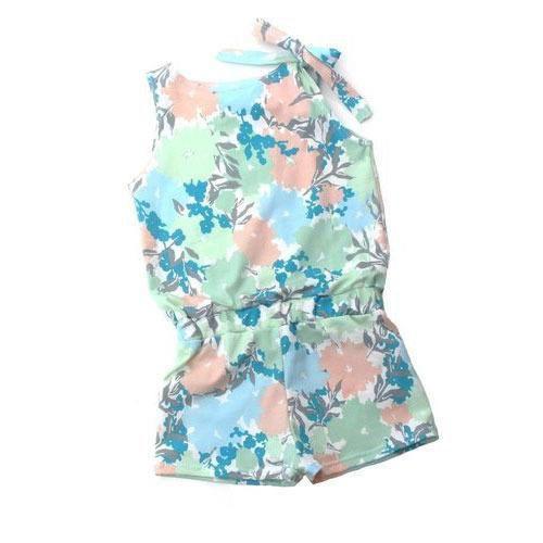Girls  Printed Jumpsuit (BP_023)