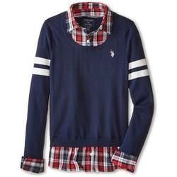 Mens Plaid Pullover (MPS_011)