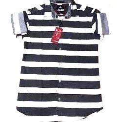 Mens Striped Linen Shirts (MS_011)