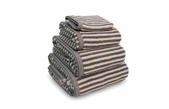 Yarn Dyed Bath Towels
