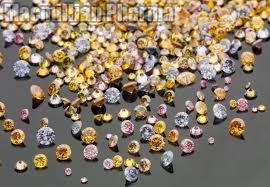 Color Rough Diamonds