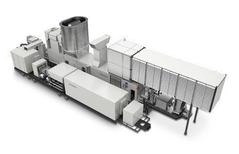 Turbines Single Modular Systems 44 MW per trailer