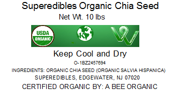 Superedibles Organic Chia Seeds
