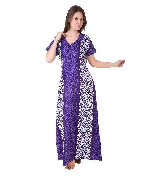 f88c2c4422 Ladies Cotton Nightgowns Manufacturer in Balotra Rajasthan India by ...