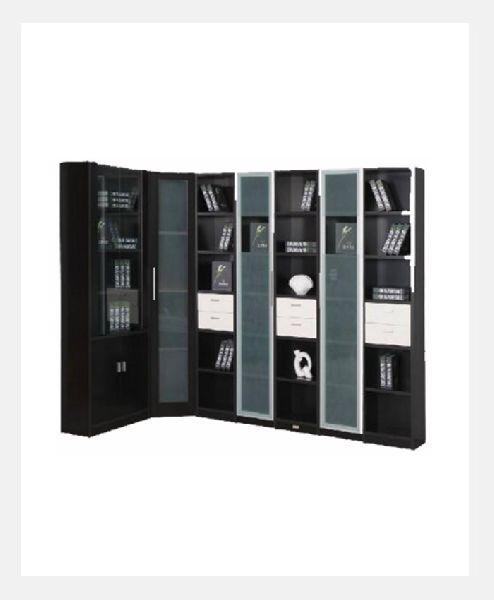 metal bookshelf