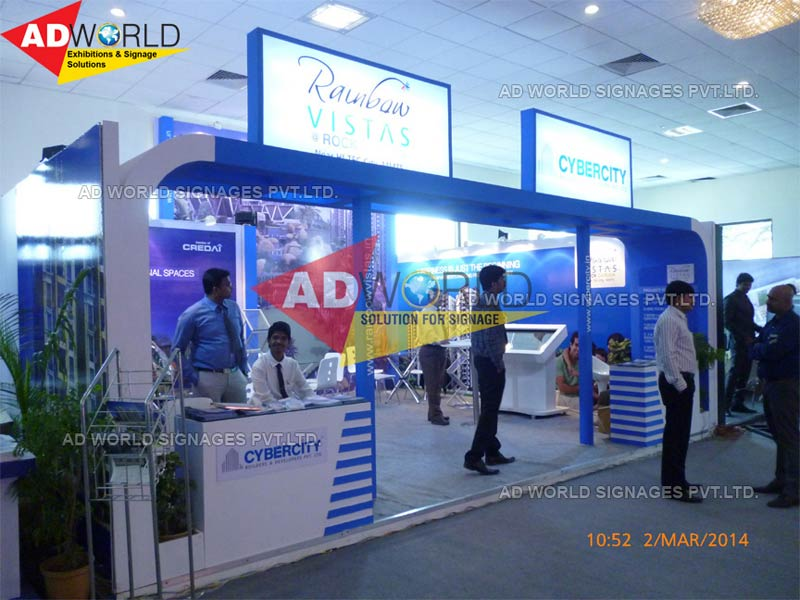 Exhibition Stall Fabricators In : Buy exhibition stall fabricators from ad world signages