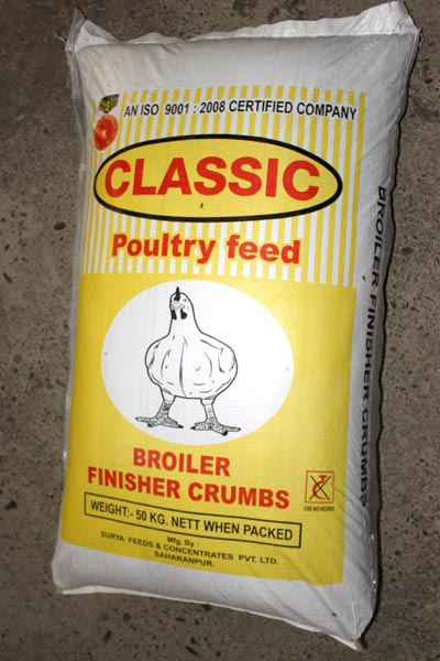Broiler Finisher Crumbs