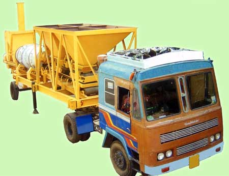 Mobile Drum Mix Plant (MDMP-01)
