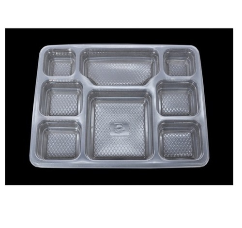 8 Compartment Disposable Meal Tray