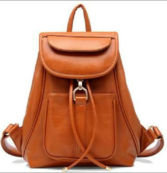 Ladies Leather Backpack Bags Manufacturer in Uttar Pradesh India by ... 2c9d24fab9aa