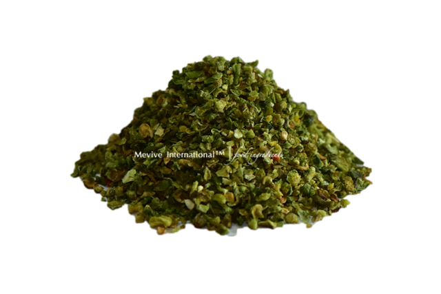 Dehydrated Green Bell Pepper Flakes (Green Bell Pepper Flakes)