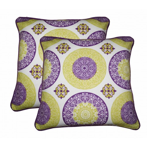 Lushomes Bold Printed Cotton Cushion Covers