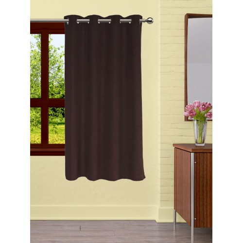 Coordinating Tie Back Lushomes Fabiana Brown Curtains