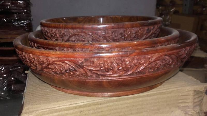 Wooden Bowls Manufacturer In Saharanpur Uttar Pradesh India By N R