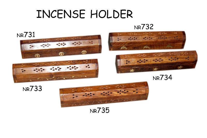 Wooden incnse holder