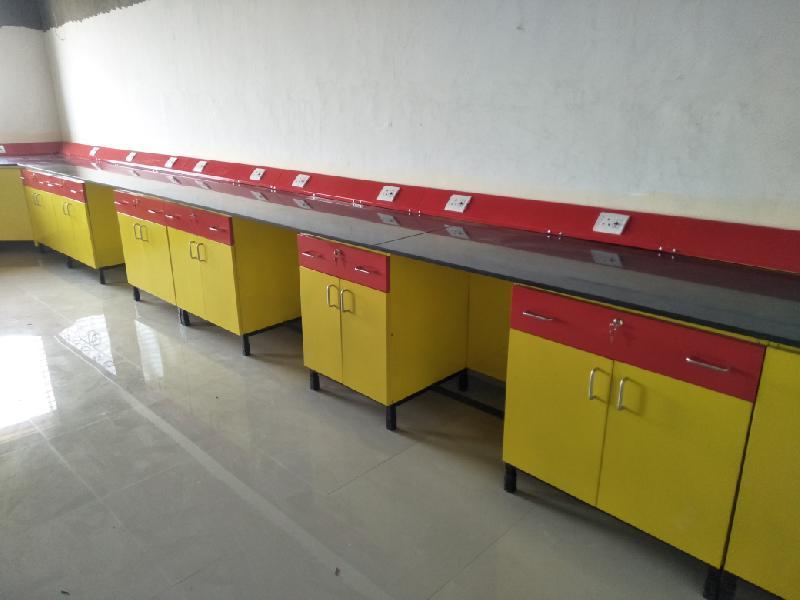 lab wall bench