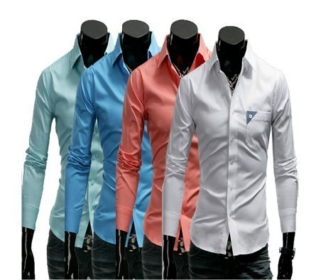 Mens Single Pocket Party Wear Shirts