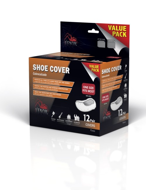 12 PAIR SHOE COVERS
