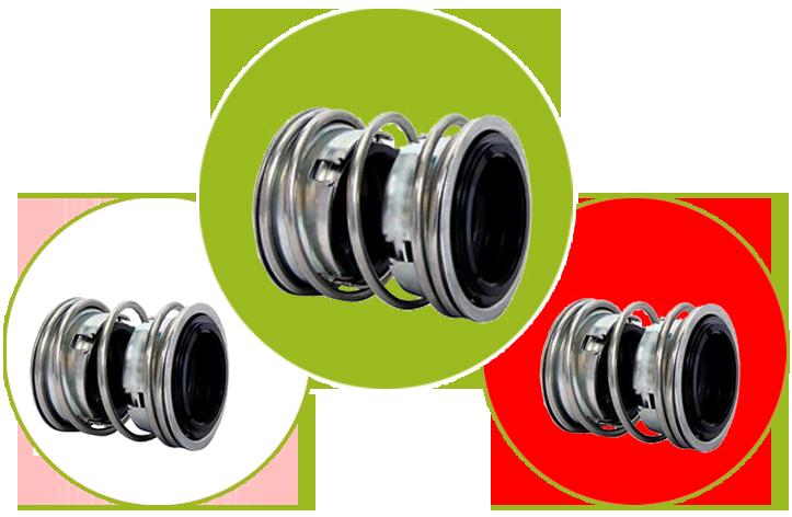 Double Mechanical Pump Seal