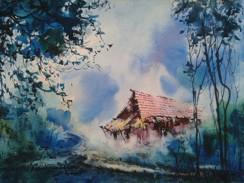 Services Watercolor Painting Services From Lucknow Uttar