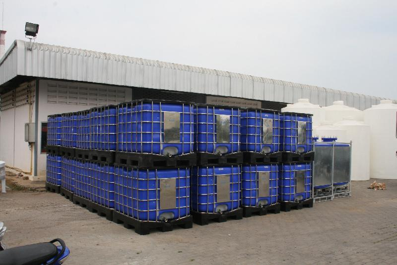 ibc tank Manufacturer in Lamlukka Thailand by Pakco International Co