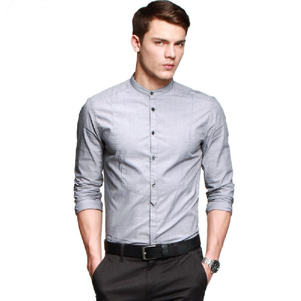 a7d64410a22 Mens Round Collar Shirt Manufacturer in Ahmedabad Gujarat India by ...