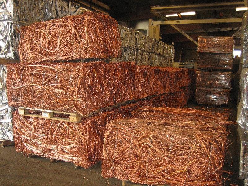 Copper Wire Scrap (Cu99.99%)