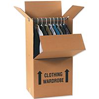 Wardrobe Packing Boxes