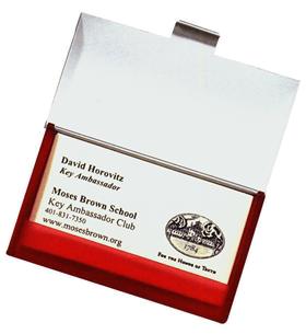 Translucent Business Card Case