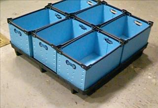 Corrugated Plastic Trays