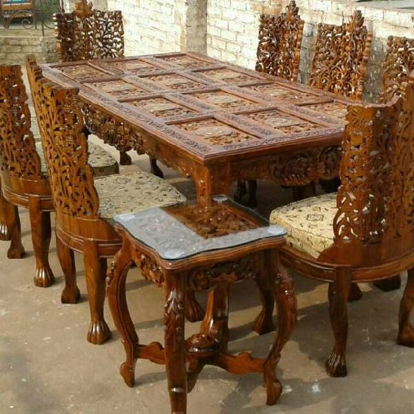Teak Dining Table Buy Teak Dining Table For Best Price At Inr 1 16 Lac Set S Approx