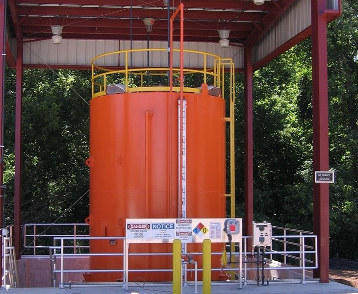 METHANOL STORAGE TANKS