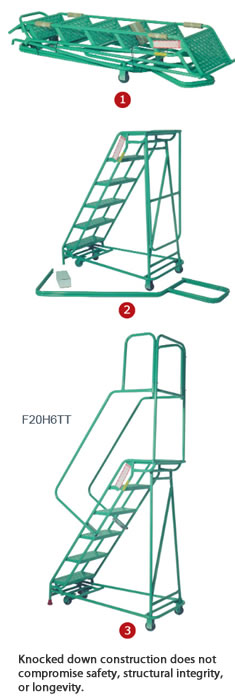 Folding Rolastair Rolling Ladder