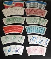 Paper blanks for cup