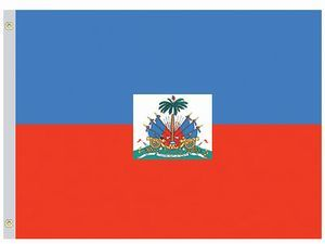 Nylon Haiti Government Flag