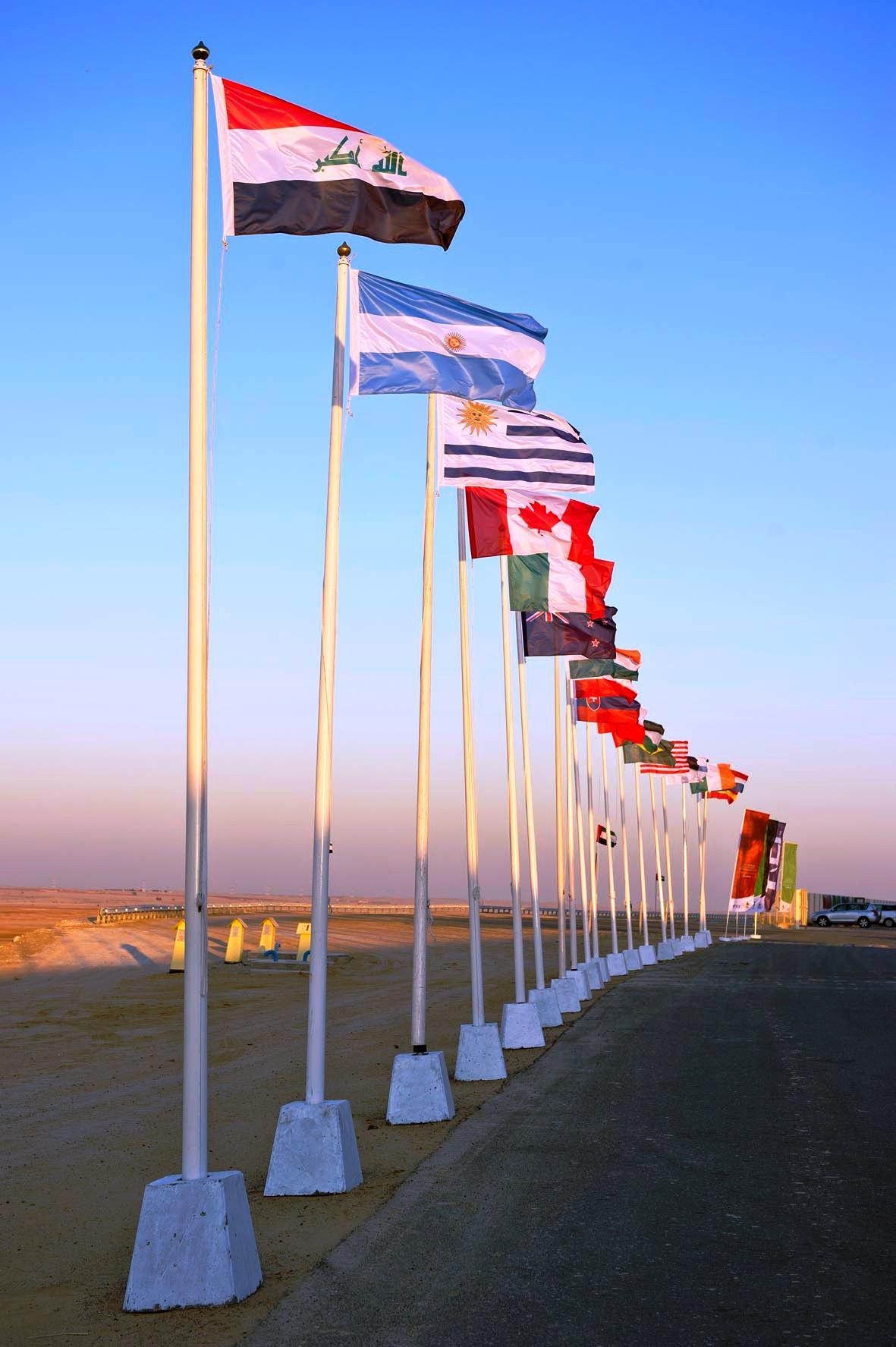HOISTING FLAGS