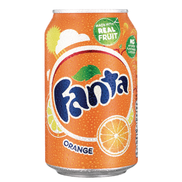 FANTA SOFT DRINKS (CAN)