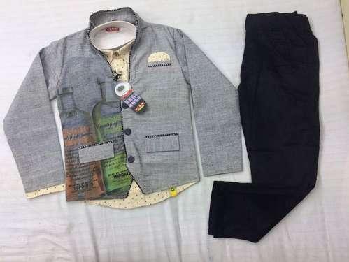 Boys Party Wear Blazer Suit
