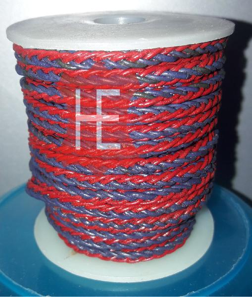 HE-RBLC 2  Round Braided Leather Cord (HE-RBLC 2)